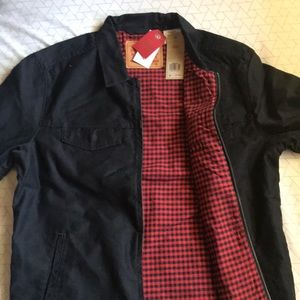 Brand new Levi black jean jacket